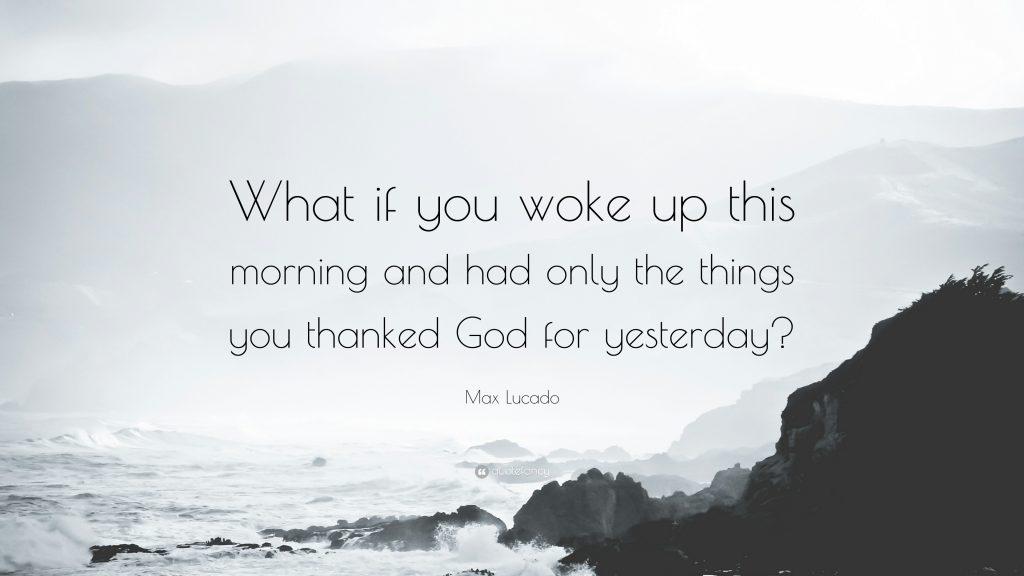 being grateful choice