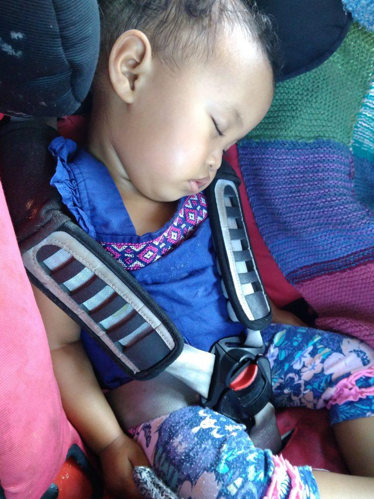 road trip toddler sleep